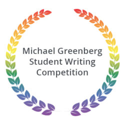 Michael Greenberg Student Writing Competition