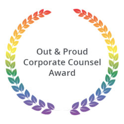 Out & Proud Corporate Counsel Award