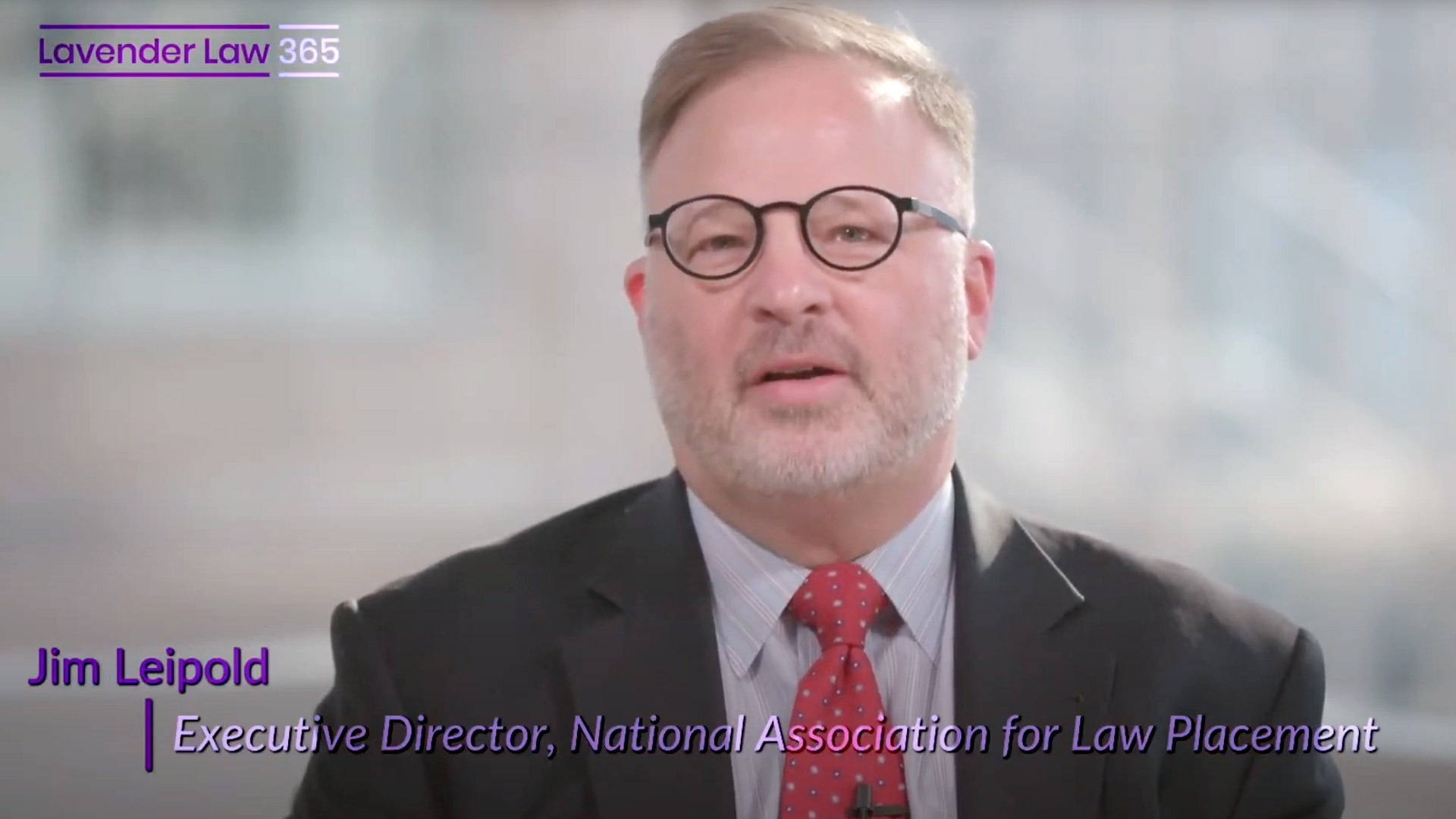 Jim Leipold on Diversity, Equity and Inclusion and the Lavender Law 365® Program